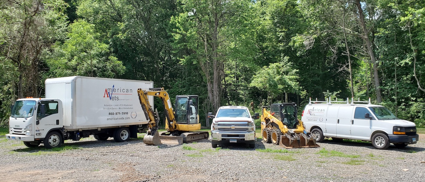 American Veterans Abatement Experts, LLC has the equipment to do the job right